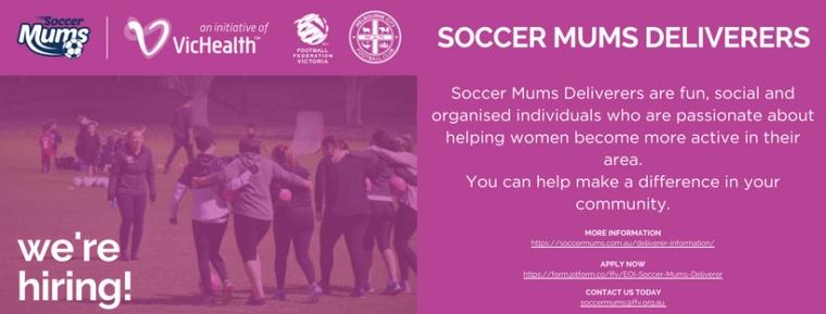 Soccer Mums Deliverer - We're Hiring